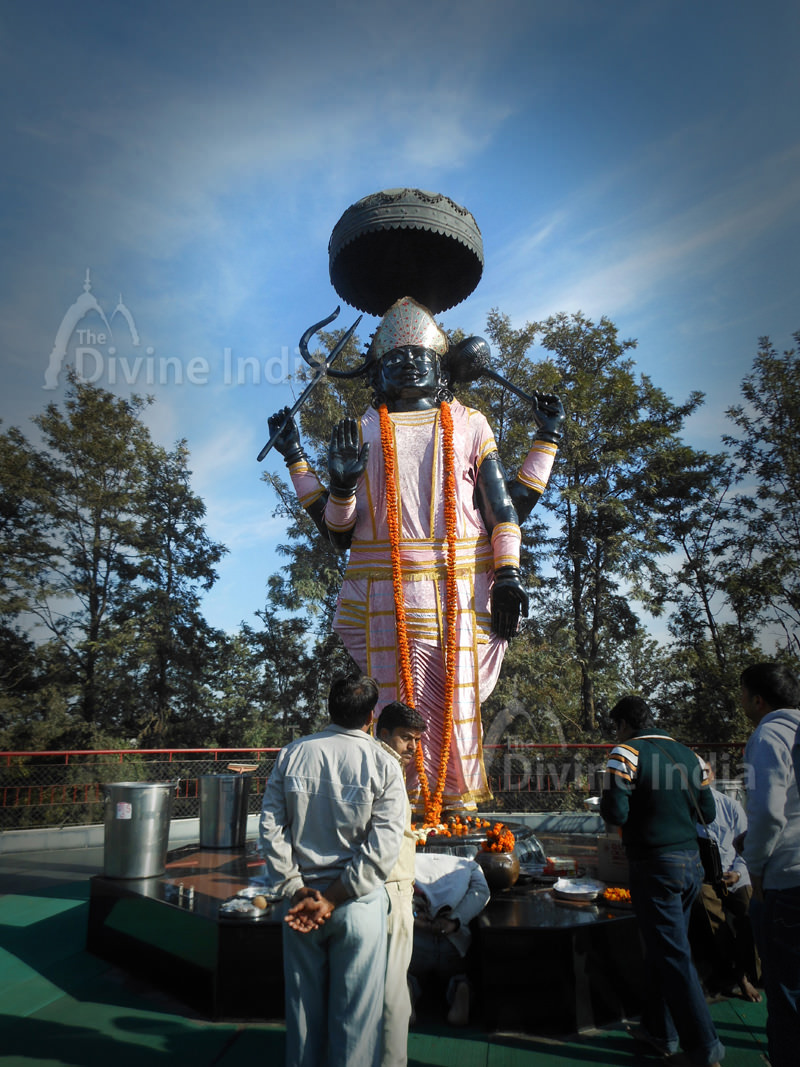 Huge Shani Devi
