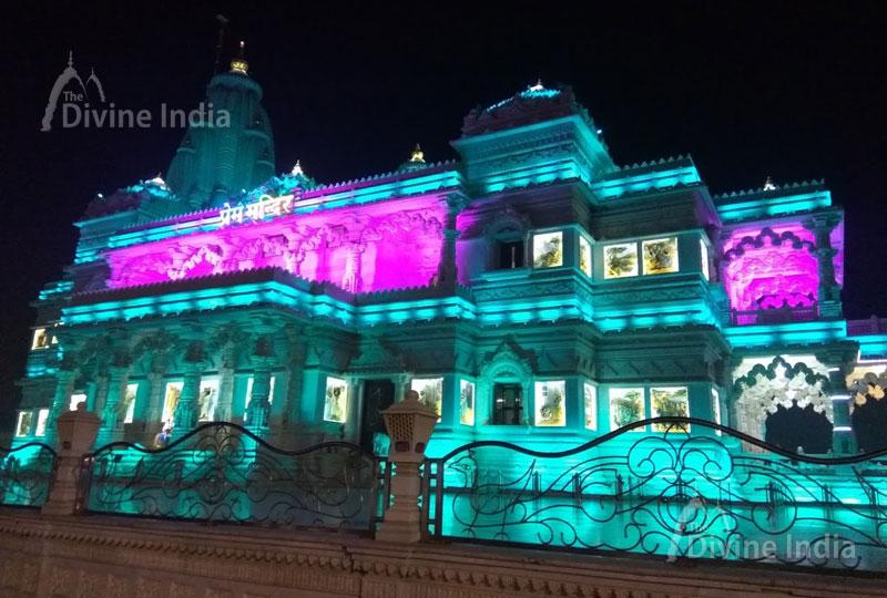 Prem Mandir Vrindavan Prem Temple Vrindavan प र म म द र