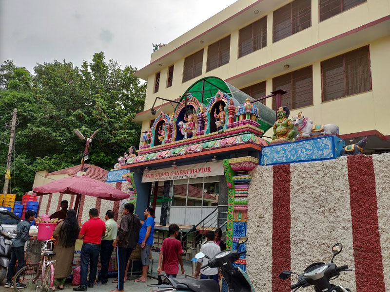 Shri Siddhi Ganesh Temple Gurugram (???? ?????? ???? ?????), Famous Ganesh Temple of Gurgaon, timings and how to reach.